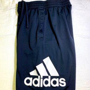 Adidas youth med shorts pocket drawstring